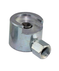 Fettmunnstykke for Ø22mm flathode nippel 1/8""